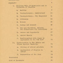Closing Brief against Joachim von Ribbentrop