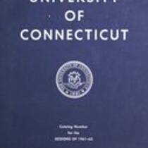 University of Connecticut bulletin, 1961-1962