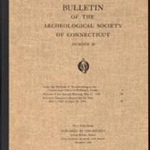 Bulletin of the Archaeological Society of Connecticut, 1946, v. 20