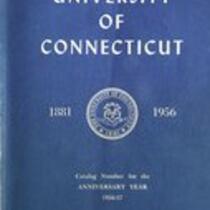 University of Connecticut bulletin, 1956-1957