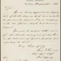 Appointment, Treasury Department