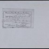 D. Alonzo Smith pass (photocopy)