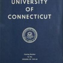 University of Connecticut bulletin, 1959-1960