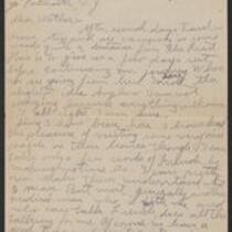 Correspondence, 1918 August - September